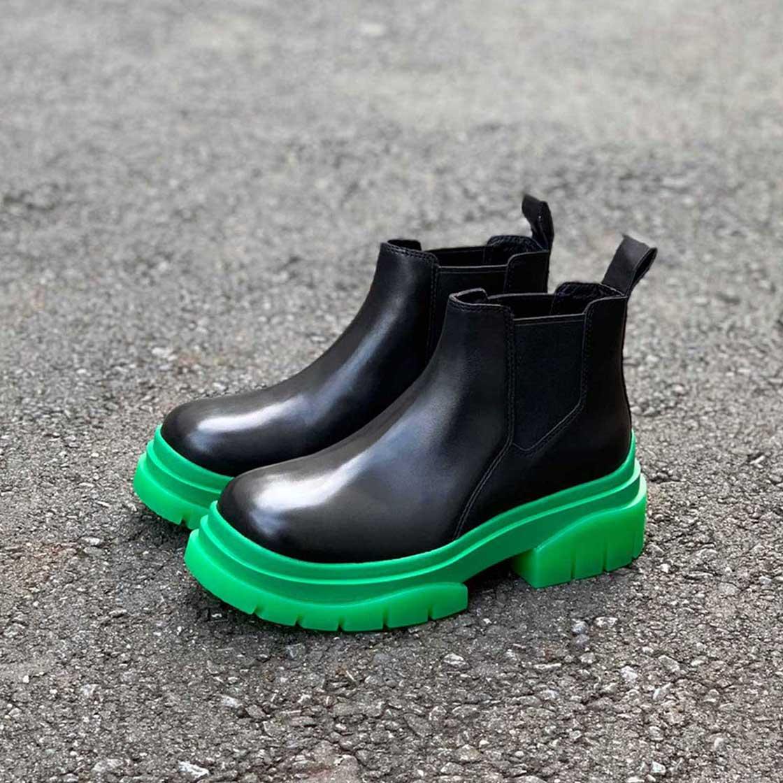 ブラック×グリーン